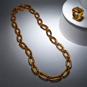 UNOde50 Link Necklace - Gold