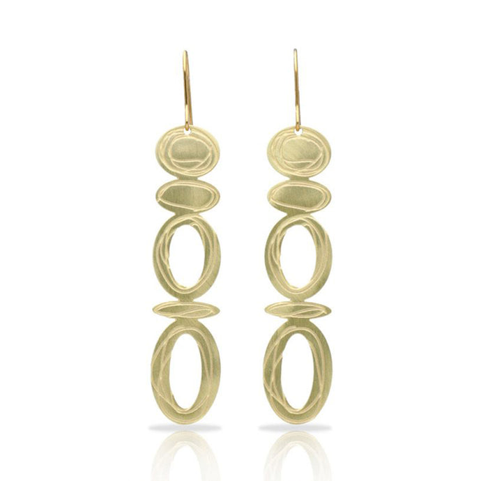 RAS Opera Gold Earrings