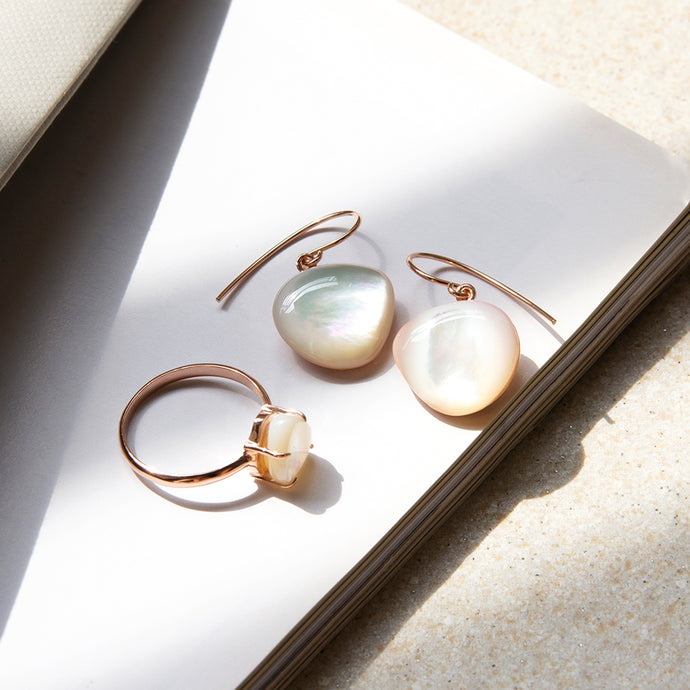 Lumiere Mother of Pearl Earrings