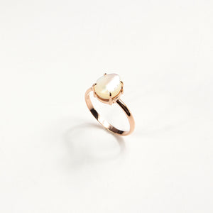 Lumiere Mother of Pearl Ring