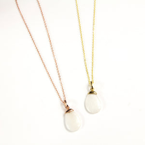 Luna Moonstone Necklace