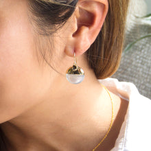 Lunar Mother of Pearl Earrings