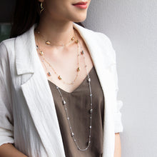 Luxe Sparkle Long Necklace