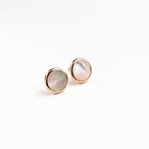 Luxe Mother of Pearl Studs