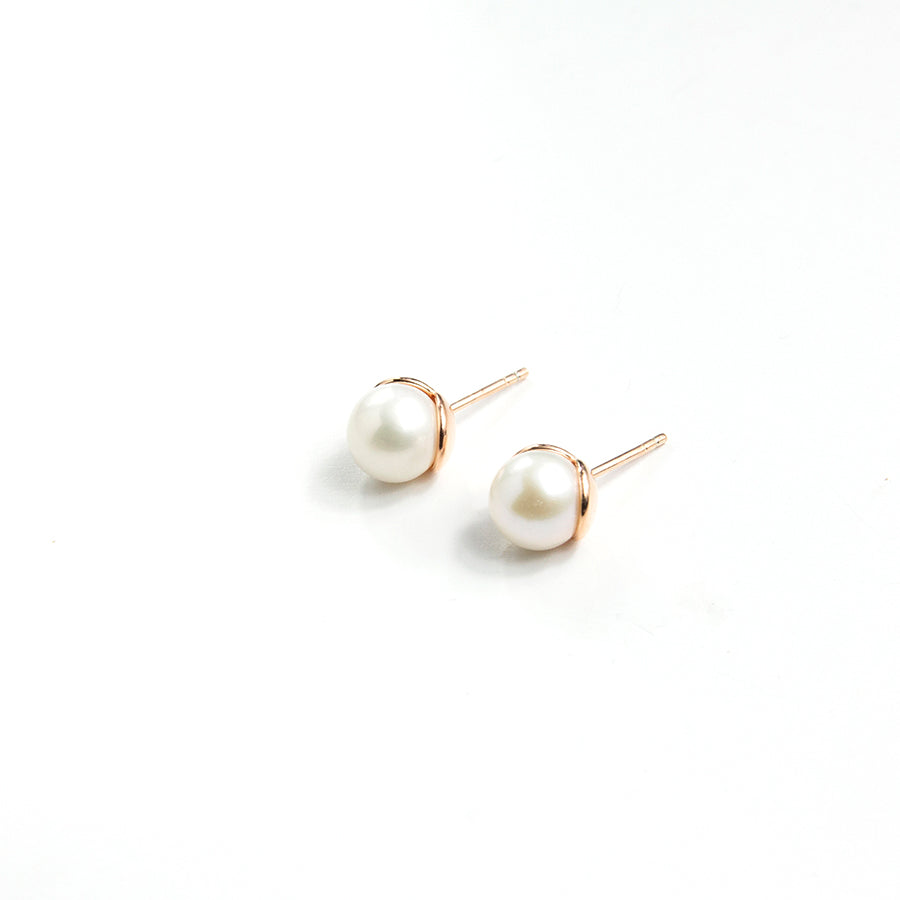Luxe Freshwater Pearl Studs