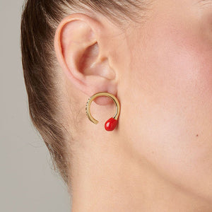 UNOde50 Perfect Match Earrings - Gold