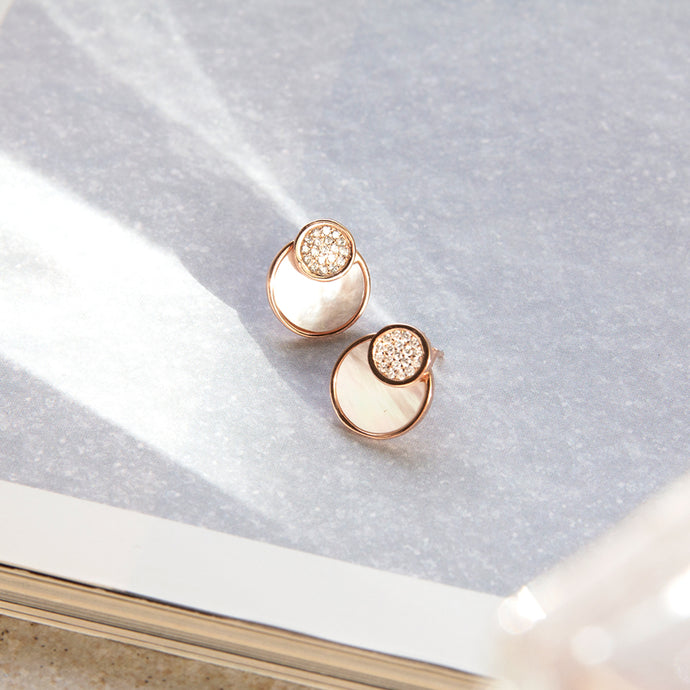 Meld Mother of Pearl Studs