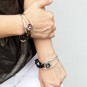 UNOde50 On My Own Bracelet - Grey