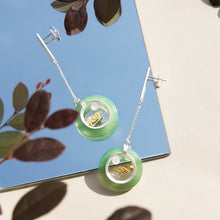 Aventurine Oriental Cloud Earrings