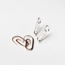 rose gold 925 sterling silver creative earrings