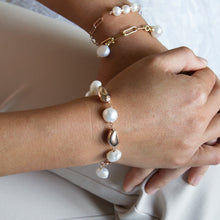 Multi Freshwater Pearl and Droplet Bracelet