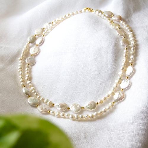 Freshwater Pearl Long Necklace