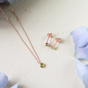 Peridot Avery Necklace