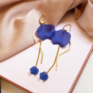 Petal Hook Earrings