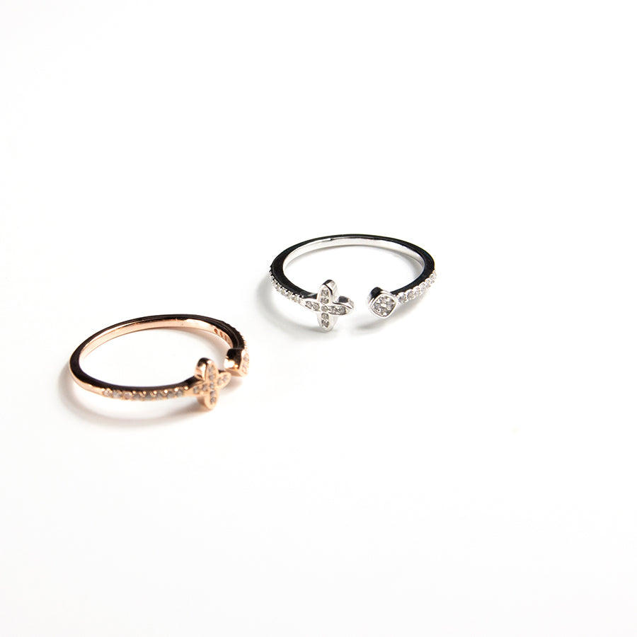 Double Pointed Ring