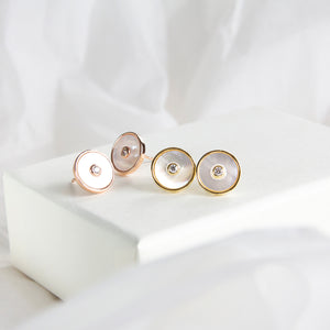 Revolve Mother of Pearl Studs