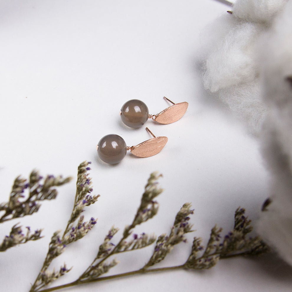 Rise Agate Drop Earrings