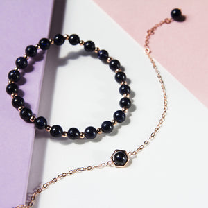 Gemstone Stack Bracelet Set