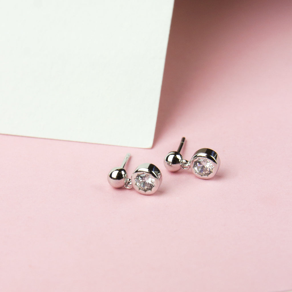 Single Crystal Drop Studs
