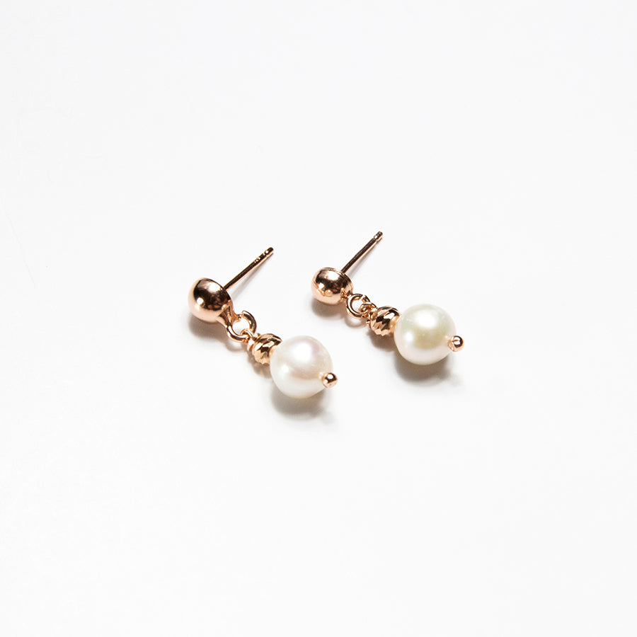Single Freshwater Pearl Earrings