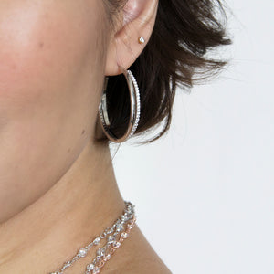 women's jewellery 925 sterling silver hoops