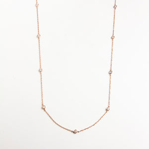 Luxe Shine Long Necklace