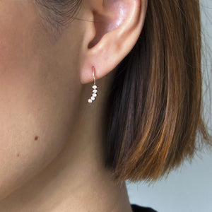Sparkly Crawler Earrings