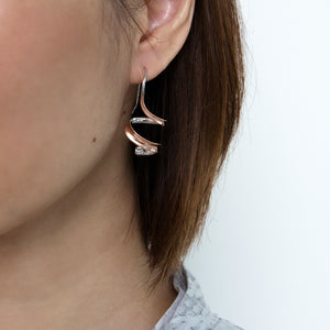 Twirl Hook Earrings