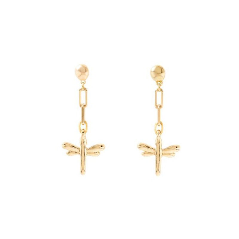 UNOde50 Take Me Earrings - Gold