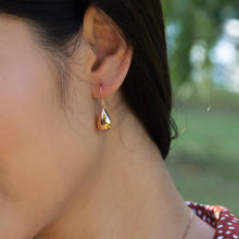 Teardrop Hook Earrings