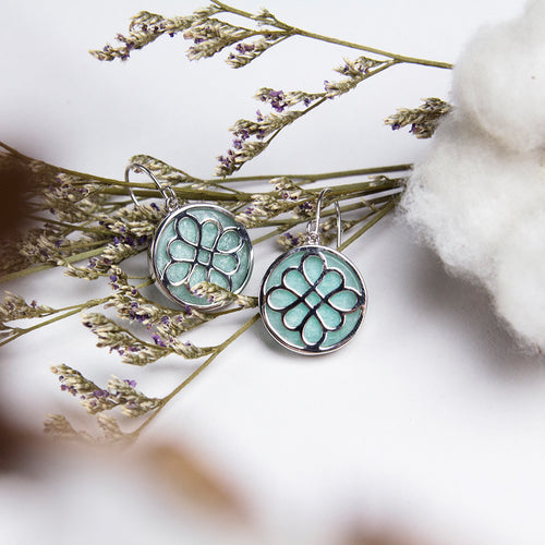 Tian Amazonite Earrings