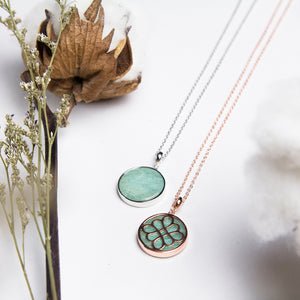 Tian Amazonite Pendant Necklace
