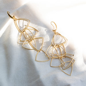 Right Angle Earrings