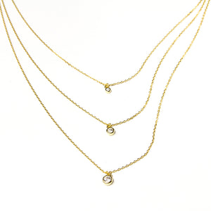 Trio Bling Necklace