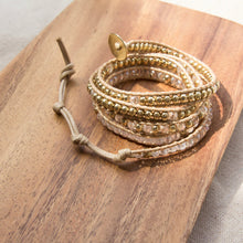 It's a Wrap Bracelet - Clear