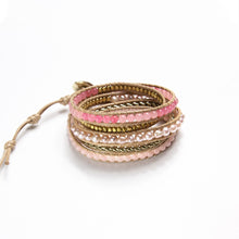 It's a Wrap Bracelet - Flamingo