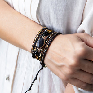 It's a Wrap Bracelet - Midnight