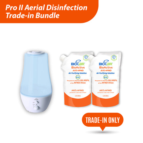 Pro II BioActive Anti-HFMD Aerial Disinfection Trade-in Bundle