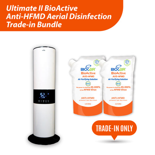 Ultimate II BioActive Anti-HFMD Aerial Disinfection Trade-in Bundle