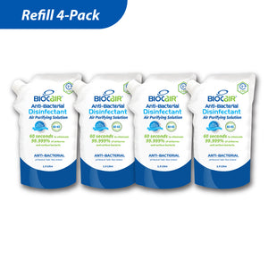 4-Pack Disinfectant Air Purifying Solution