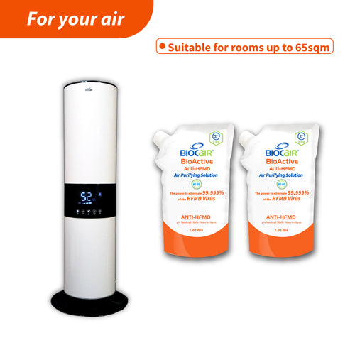 Ultimate II BioActive Anti-HFMD Aerial Disinfection Bundle