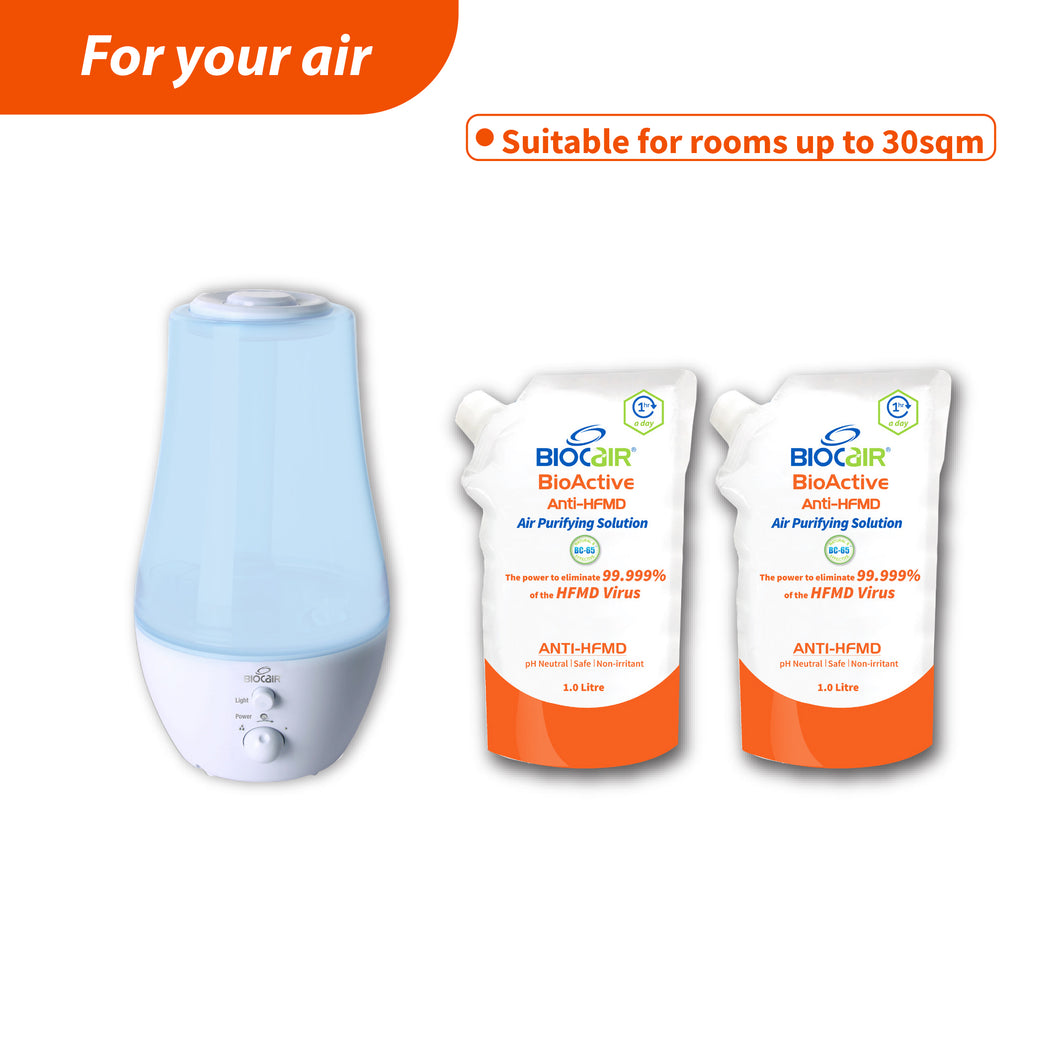Pro II BioActive Anti-HFMD Aerial Disinfection Bundle