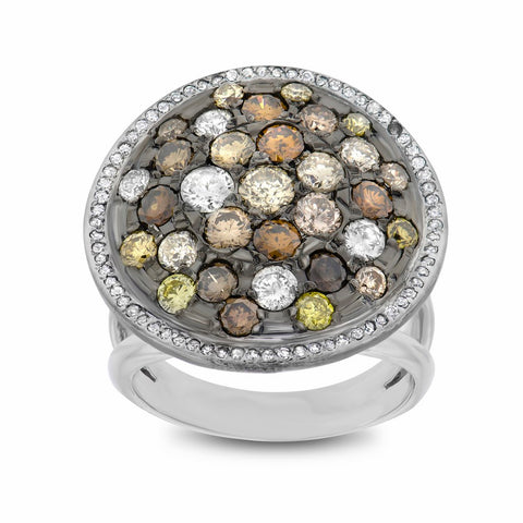 Colored Fashion Ring