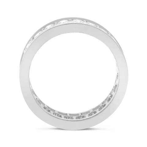 Two Row Wedding Band