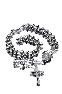 Silver Religious Rosary