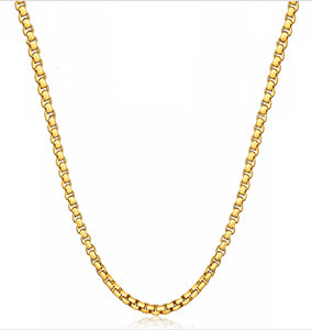 18k Gold Cobra Necklace