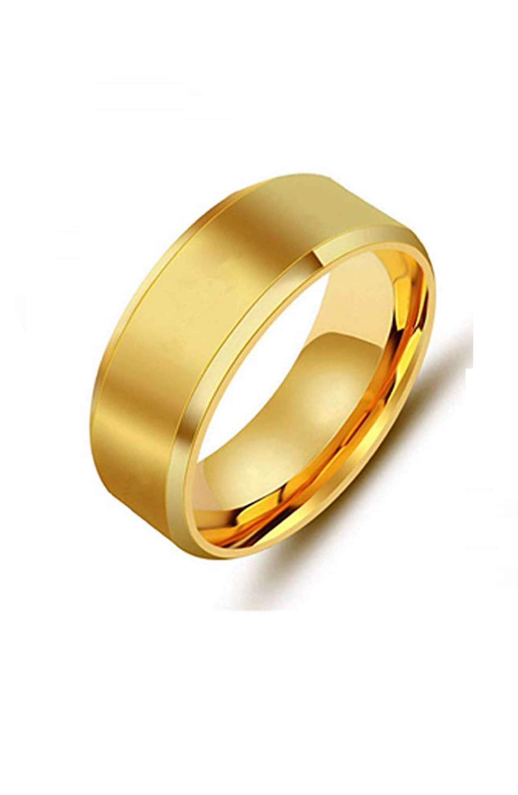 18k Gold Band Ring