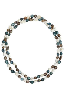 Mukti Color Endless Pearl Necklace