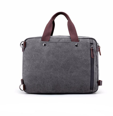"Messenger Briefcase / Backpack - 15"" Canvas Bag Atlas Outfitters S & G Bags and Apparel [product_description] - Atlas Outfitters"