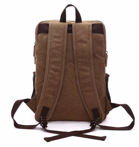 New Kid on The Block: Canvas Backpack Backpack Atlas Outfitters S & G Bags and Apparel [product_description] - Atlas Outfitters